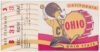 1953 NCAAF California ticket stub vs Ohio State