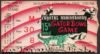 1960 Gator Bowl ticket stub Arkansas vs Georgia Tech