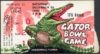 1961 Gator Bowl ticket stub Penn State vs Georgia Tech