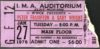 1976 Peter Frampton Gary Wright Concert ticket stub Flint