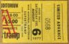 1977 Supertramp ticket stub Greensboro