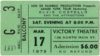 1979 Elvis Costello and the Attractions Rubinoos ticket stub Dayton