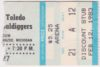 1983 IHL Kalamazoo Wings ticket stub vs Toledo