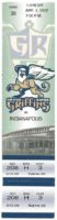 1997 Grand Rapids Griffins ticket vs Indianapolis Ice