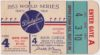 1953 World Series Game 4 ticket stub Dodgers vs Yankees