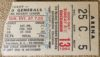 1964 EHL Greensboro Generals Ticket Stub vs Jacksonville Rockets