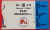 1978 WHA Racers ticket stub vs Nordiques Gretzky's 3rd Game