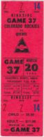 1980 Colorado Rockies ticket stub vs Quebec