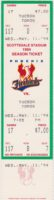 1994 Phoenix Firebirds ticket vs Tucson Toros