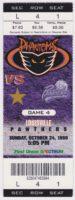 1999 AHL Philadelphia Phantoms ticket vs Louisville