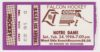 1996 NCAAMH Bowling Green ticket stub vs Notre Dame