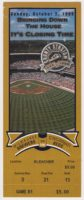 1999 Milwaukee Brewers ticket stub vs Reds