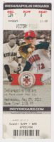 2013 Indianapolis Indians ticket stub vs Pawtucket Red Sox