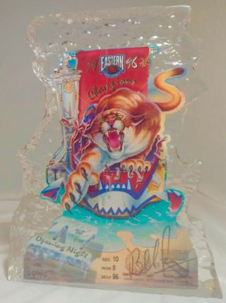 1996 Florida Panthers Opening Night Ticket vs New York Rangers