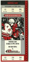 1999 Carolina Hurricanes ticket stub vs Devils