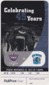 2012 Phoenix Suns ticket stub vs Hornets