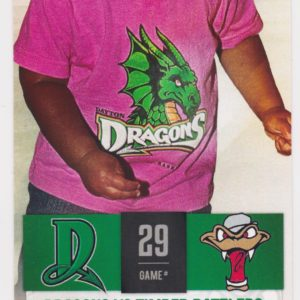 2015 Dayton Dragons ticket stub vs Timber Rattlers 6/12/2015