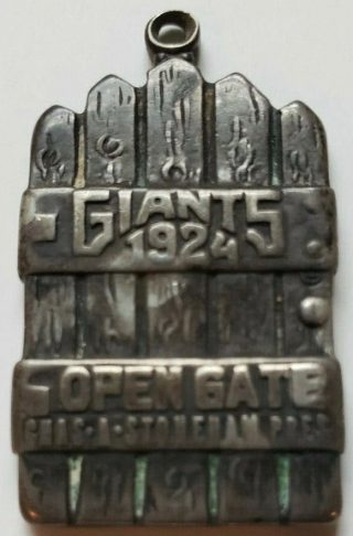 1924 New York Giants Polo Grounds Season Pass