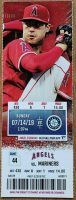 2019 Los Angeles Angels ticket stub vs Mariners