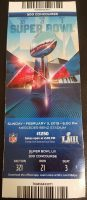 2019 Super Bowl ticket stub Rams vs Patriots