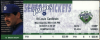 2001 Bud Smith No Hitter ticket stub