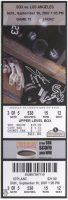 2007 Jim Thome 500th Home Run ticket stub