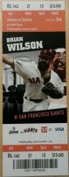2012 Matt Cain Perfect Game ticket stub