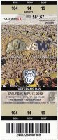 2012 NCAAF Colorado Buffaloes ticket stub vs Washington