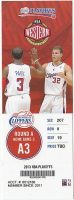 2013 Los Angeles Clippers Playoffs ticket stub vs Grizzlies
