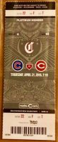 2016 Jake Arrieta 2nd No Hitter ticket stub