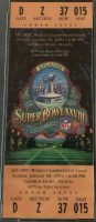 1994 Super Bowl Full Ticket Cowboys vs Bills