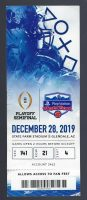 2019 Fiesta Bowl ticket stub Ohio State vs Clemson