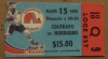 1981 NHL Quebec Nordiques ticket stub vs Colorado