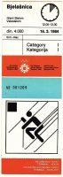 1984 Sarajevo Olympic Games Giant Slalom Ticket