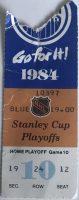 1984 Stanley Cup Final Game 4 ticket stub Oilers vs Islanders