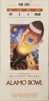 1996 Alamo Bowl Ticket Stub Iowa vs Texas Tech