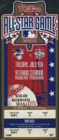 1996 MLB All Star Game Philadelphia ticket stub