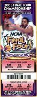 2003 NCAA Mens Championship Syracuse vs Kansas