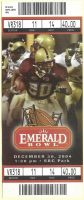 2004 Emerald Bowl ticket stub Navy vs New Mexico