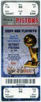 2004 NBA Finals Game 4 ticket stub Pistons vs Lakers