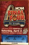 2005 NCAAMB Final Four ticket stub