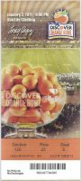 2011 Orange Bowl ticket stub Stanford vs Virginia Tech