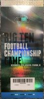 2015 Big Ten Championship Game ticket stub Michigan State Iowa