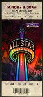 2016 NBA All Star Game Toronto ticket stub