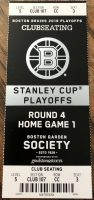 2019 Stanley Cup Final Game 1 ticket stub Blues at Bruins
