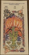 1995 NBA All Star Basketball Game Phoenix Ticket Stub