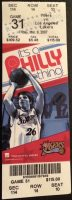 2007 Philadelphia 76ers ticket stub vs Lakers Kobe 30 points