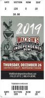 2019 Independence Bowl ticket Louisiana Tech vs Miami