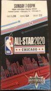 2020 NBA All Star Game Ticket Stub