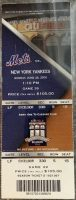 2009 Mariano Rivera 500th Save Game Ticket Stub